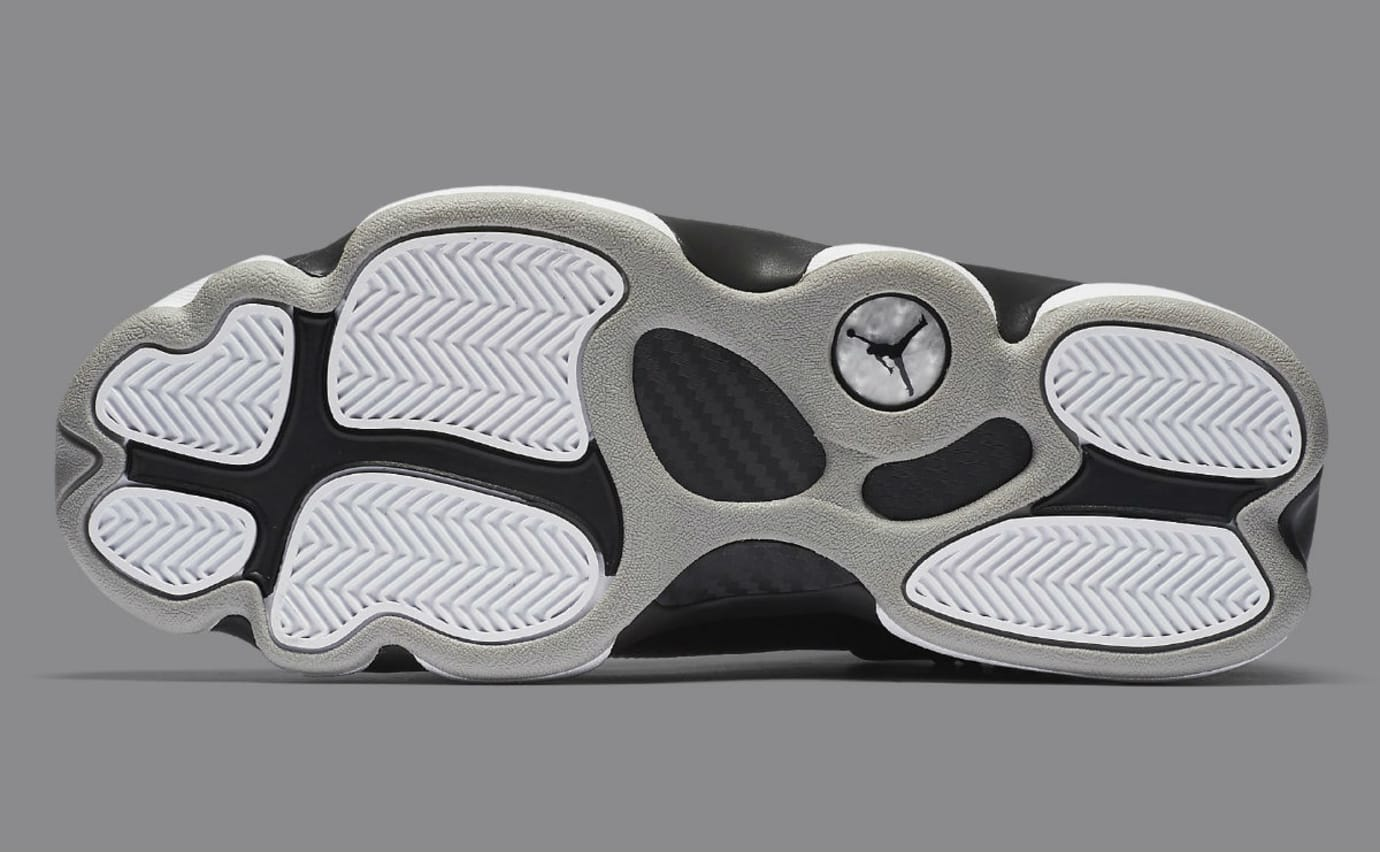 uk availability 51e51 1aa88 Jordan 6 Rings 2017 Black Silver Release Date Sole 322992-021