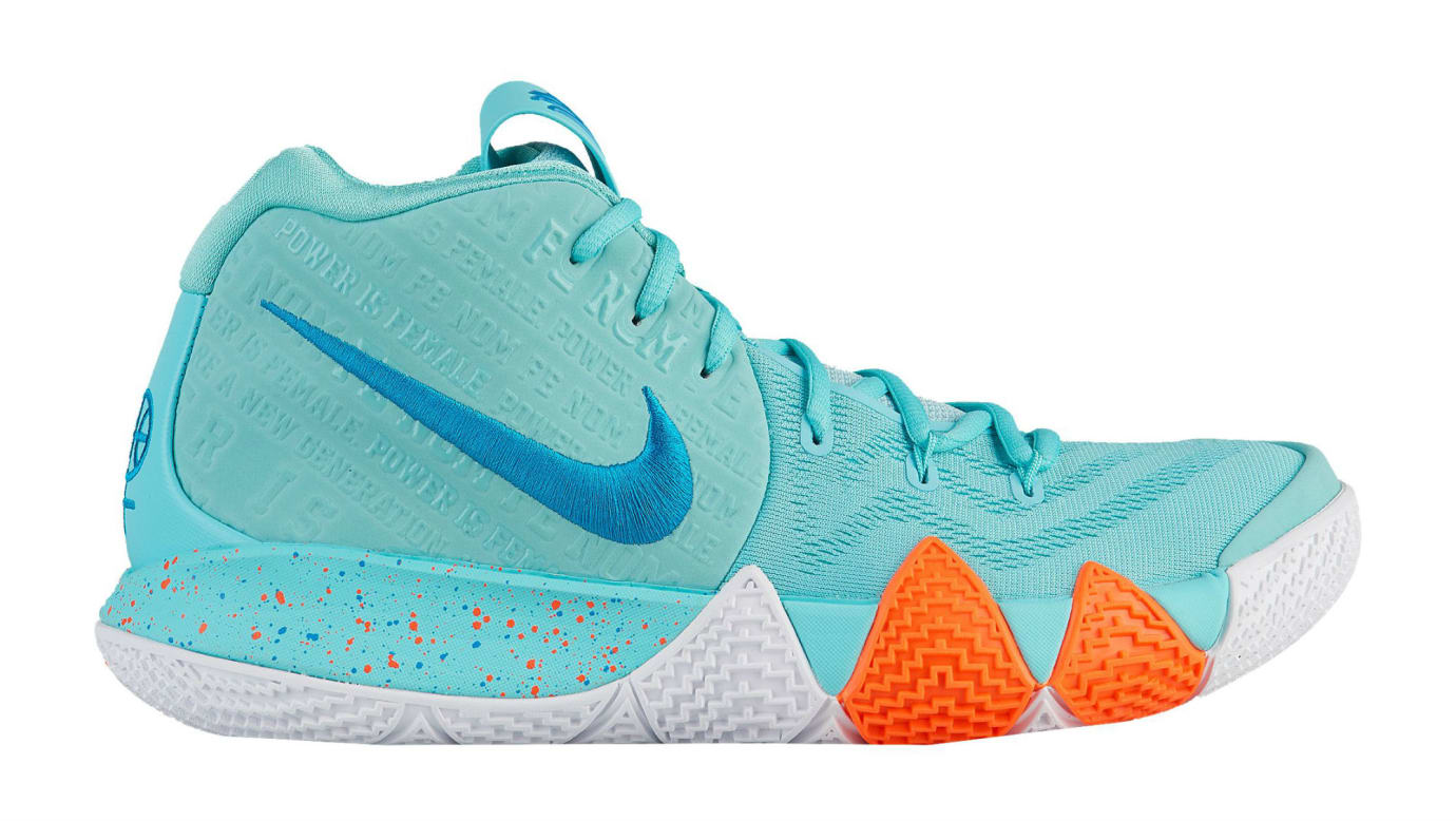 Nike Kyrie 4 Power Is Female Release Date 943806-402 Profile