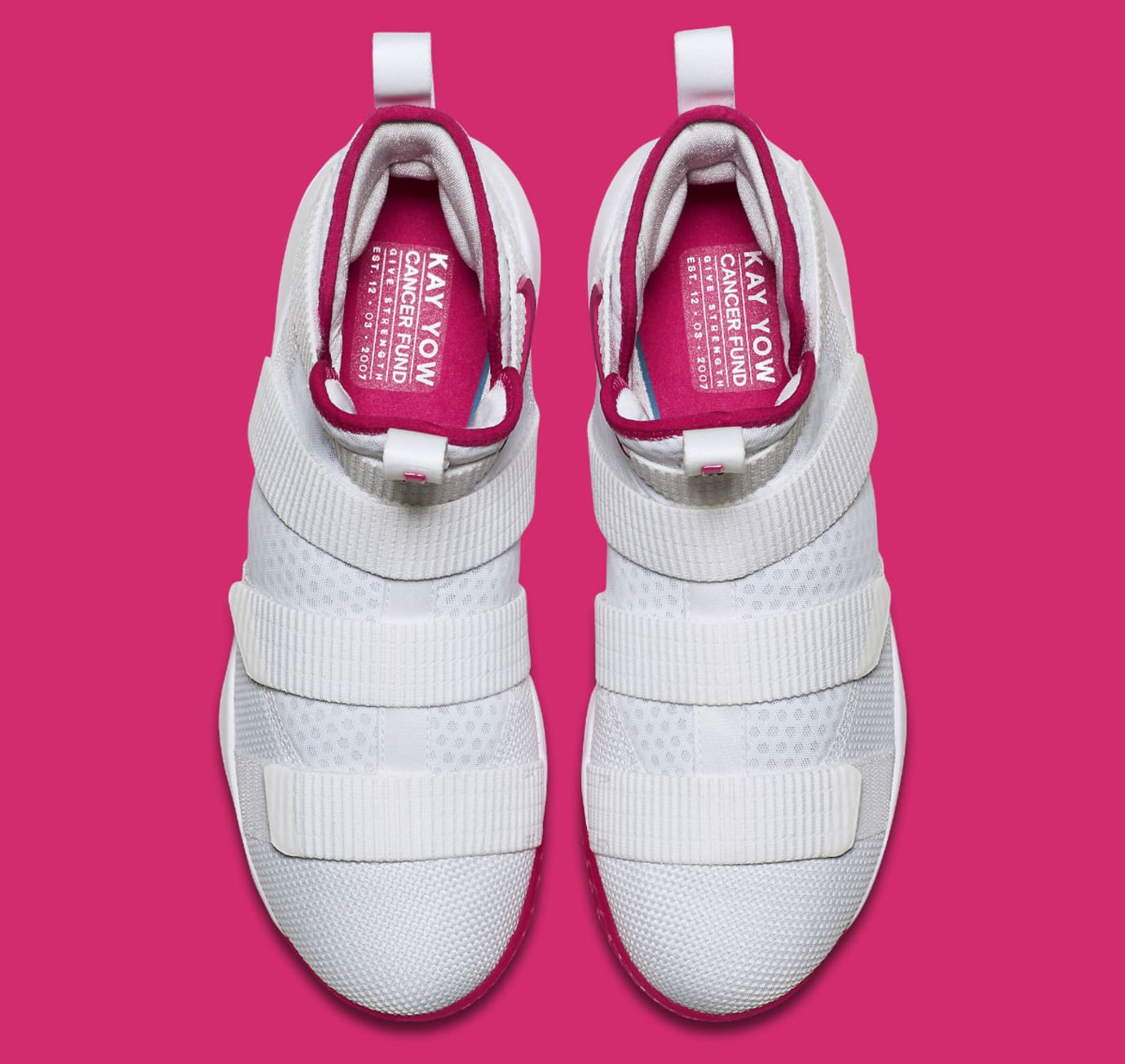 sale retailer 7675d bca50 Nike LeBron Soldier 11 Kay Yow Breast Cancer Awareness ...