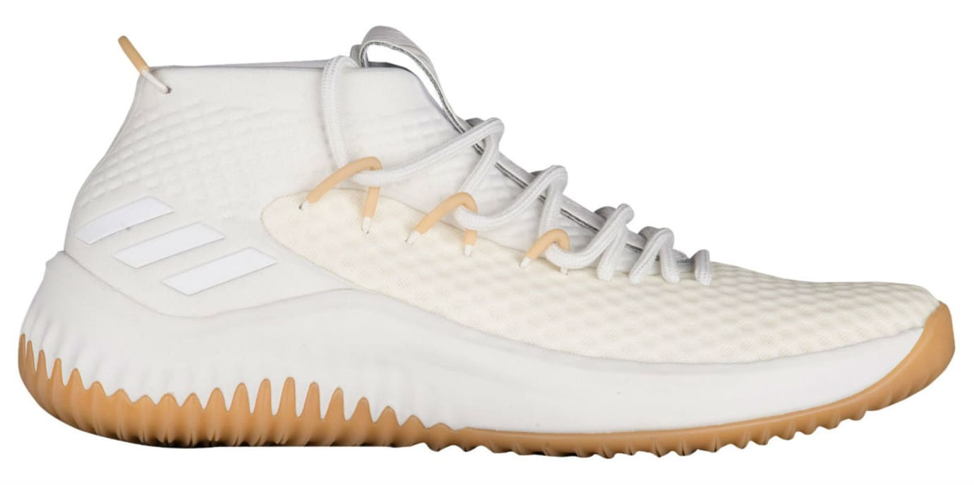 new styles b7b49 b802d Adidas Dame 4 White Gum Release Date Profile BY4496