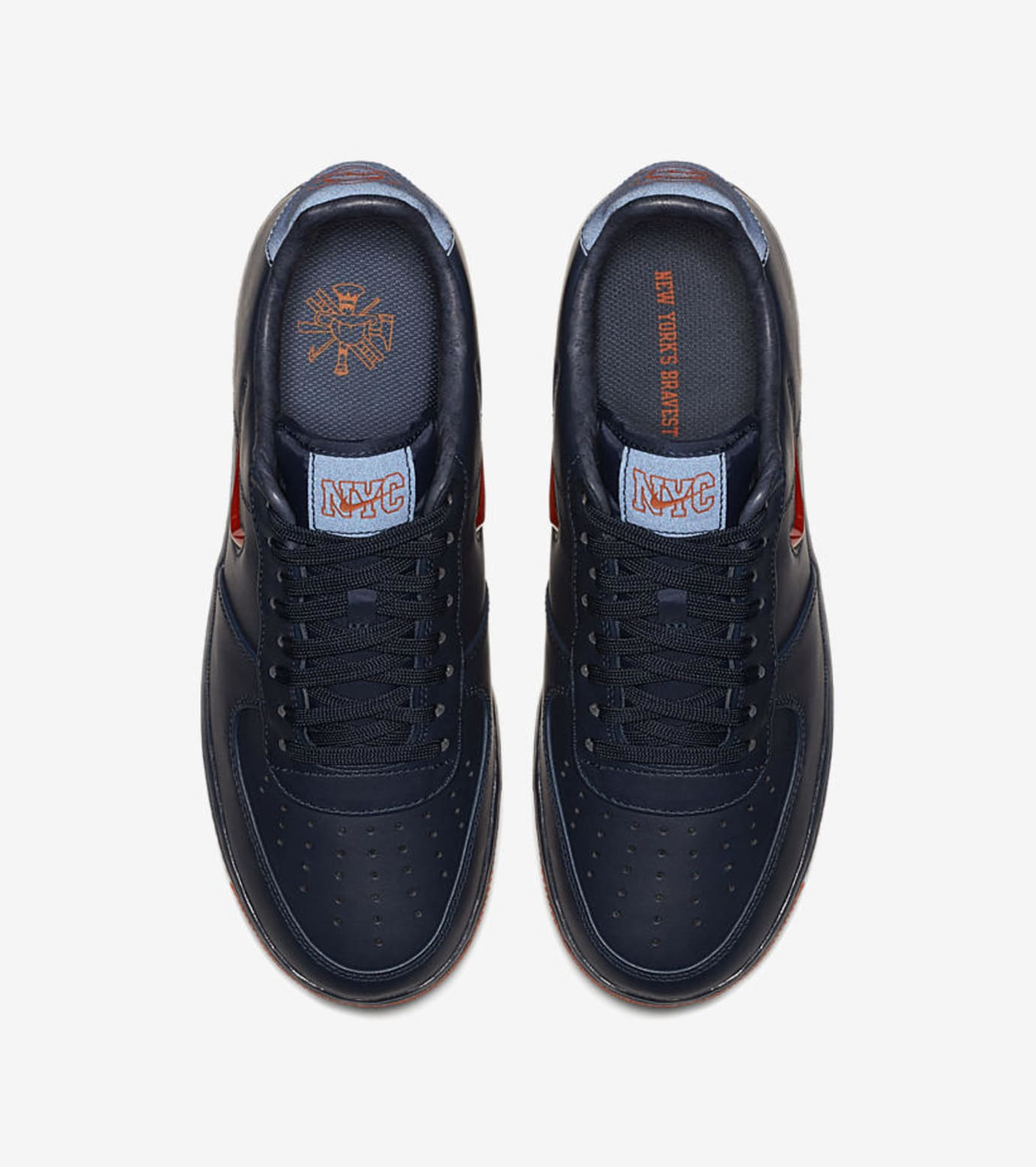 Nike Air Force 1 Low 'NYC's Finest' AO1635-400 (Top)