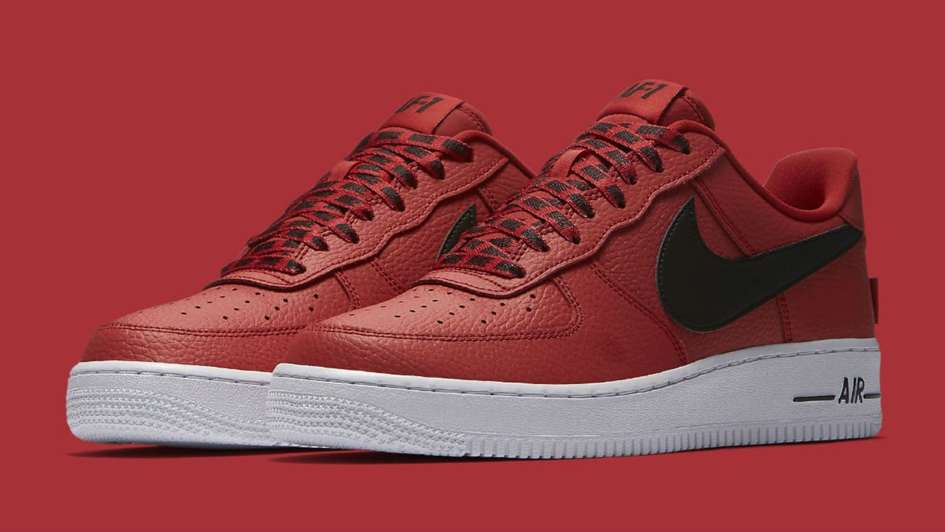 bd8baa23ddd Nike Air Force 1 Low NBA Statement Game Release Date 823511-604