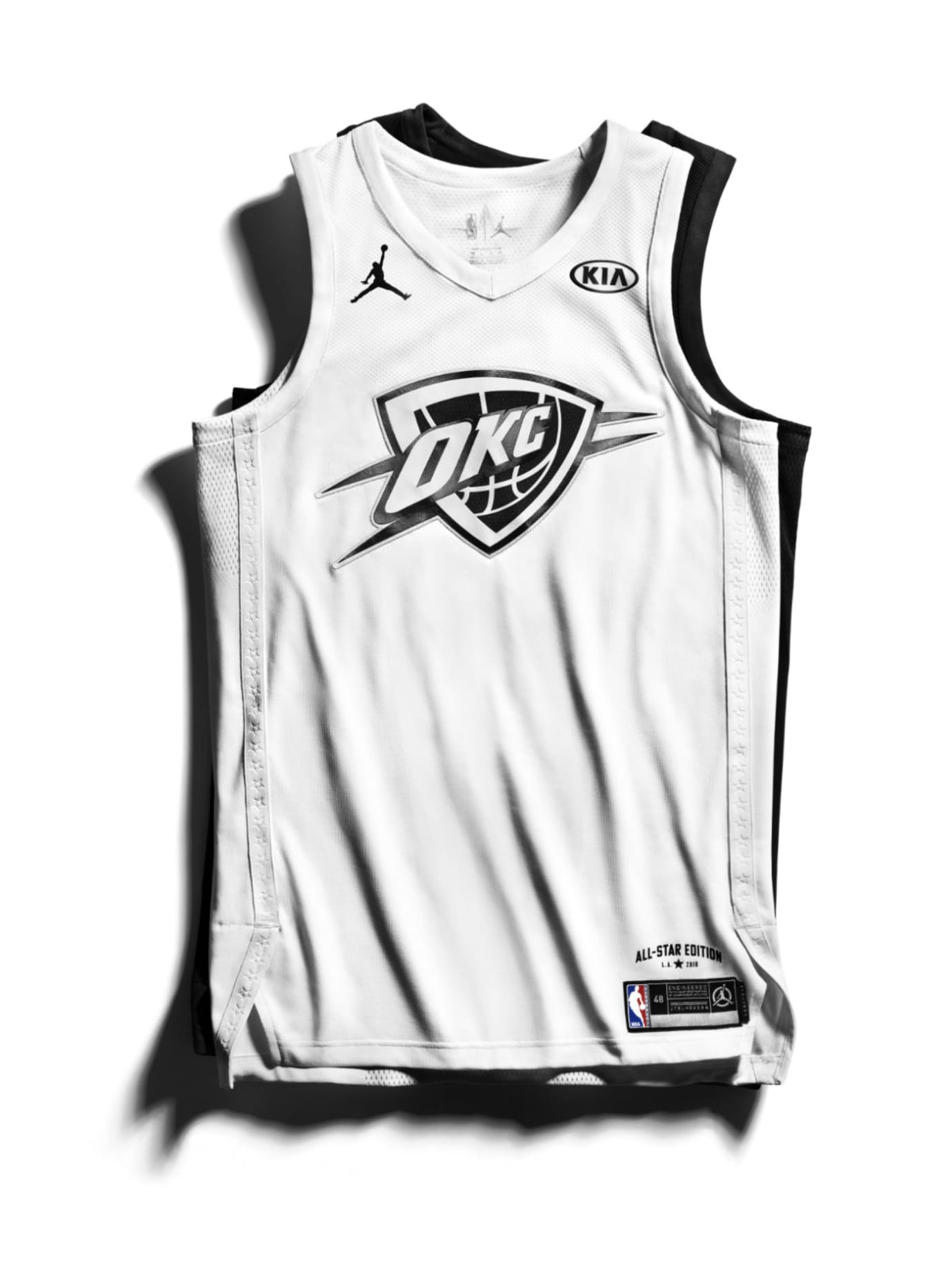 92cf59b51 Jordan Brand 2018 NBA All-Star Jerseys Westbrook Front