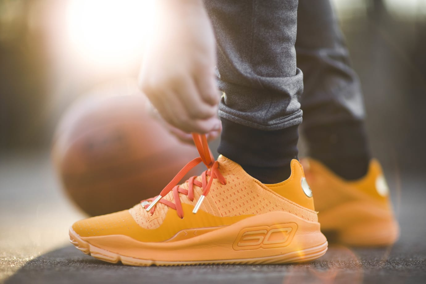 Under Armour Curry 4 Low 'Orange'