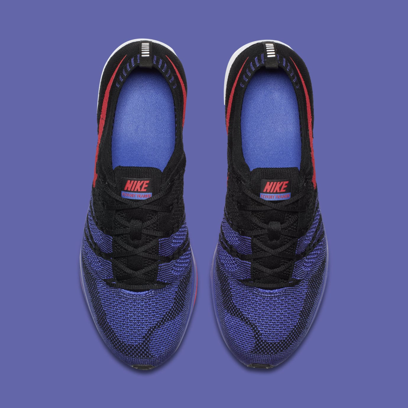 Nike Flyknit Trainer 'Siren Red/Persian Violet' AH8396-003 (Top)