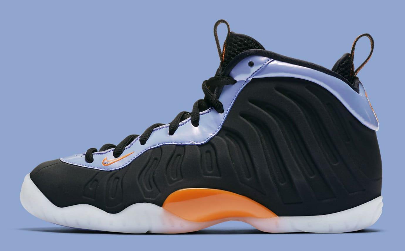 04029c15955e8 Nike Little Posite One Black Total Orange Twilight Pulse White Release Date  644791-008 Profile