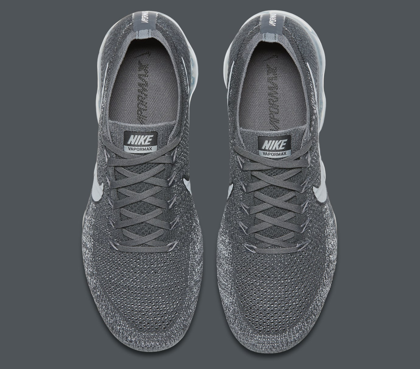 Nike Air VaporMax Dark Grey Pure Platinum 849558-002 Top