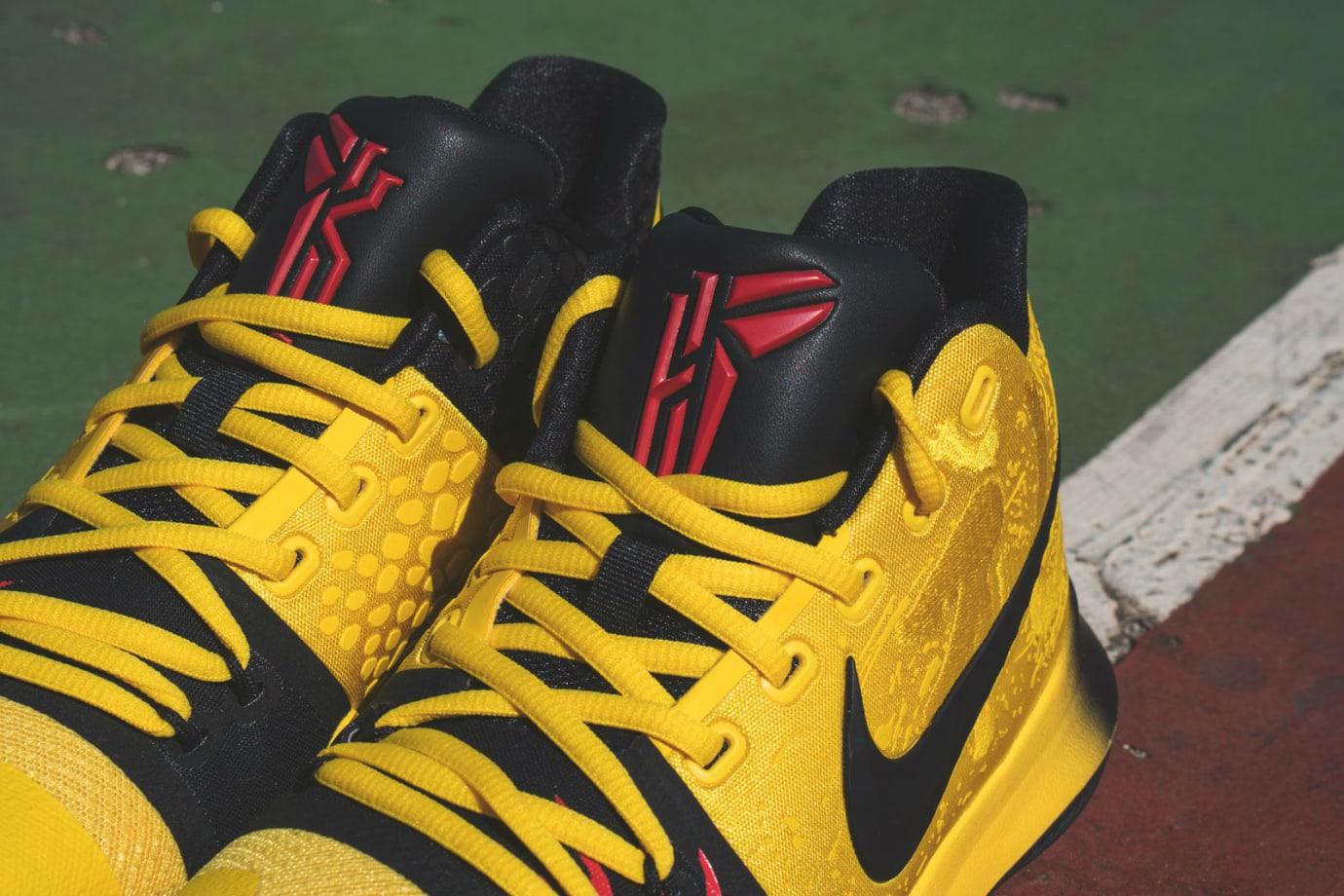 a2bb1a1d146941 Nike Kyrie 3 Mamba Mentality Bruce Lee Restock Tongue AJ1672-700
