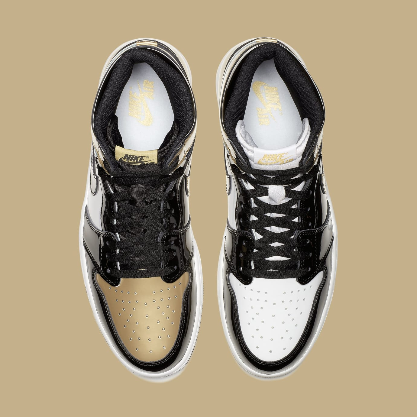 Air Jordan 1 High Gold Top 3 861428-001