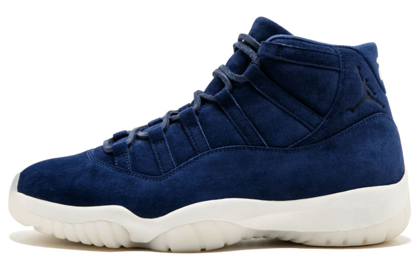 401e0c40a1f Derek Jeter Air Jordan 11 XI Navy Blue Suede $40,000 | Sole Collector