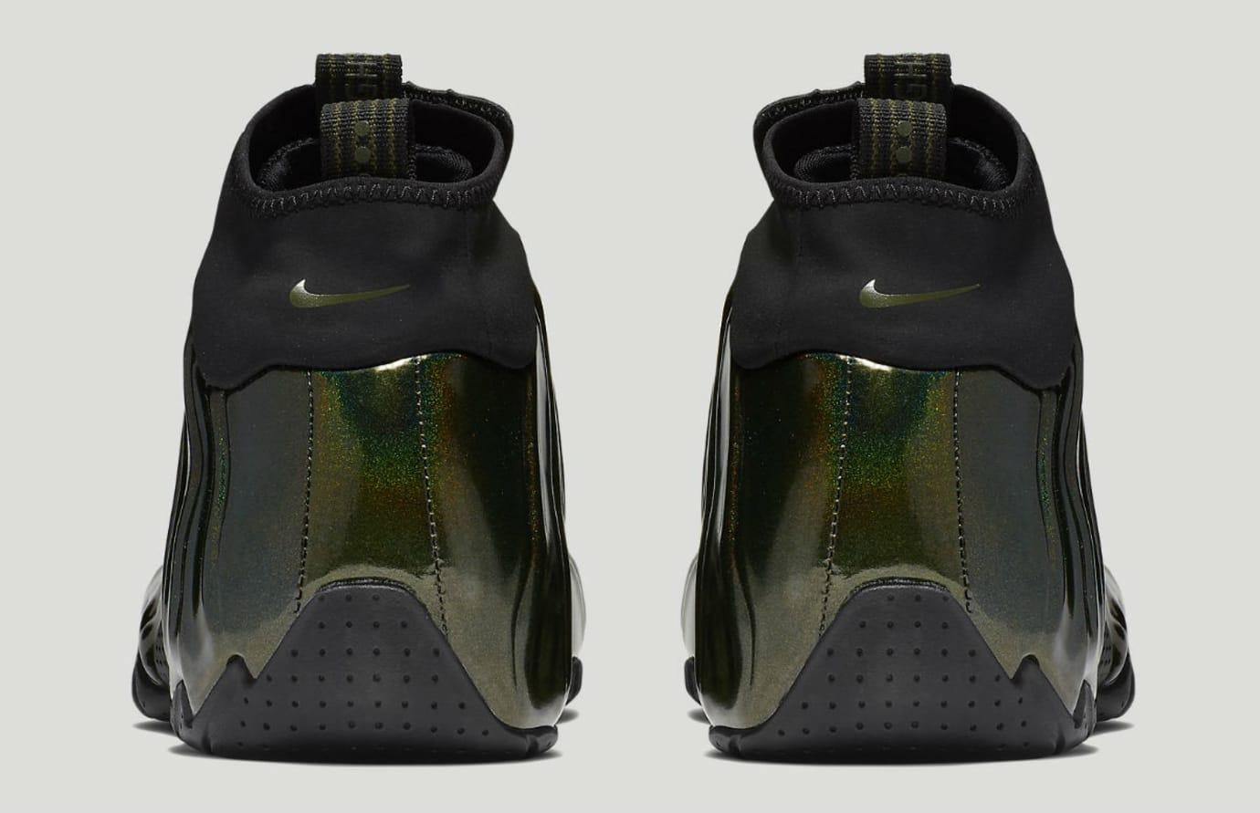 668b4a2065 Image via Nike Nike Air Flightposite Legion Green Release Date AO9378-300  Heel
