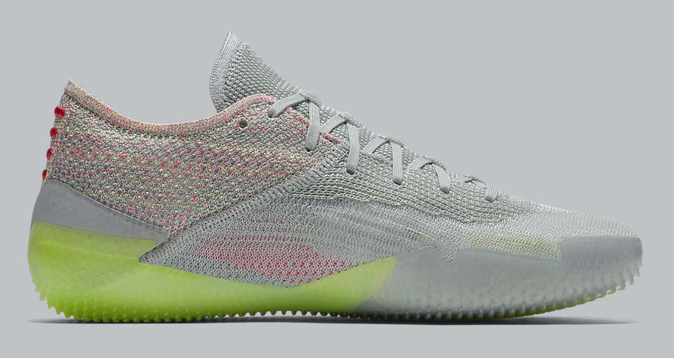 1c3583121dff Image via Nike Nike Kobe A.D. NXT 360 Grey Multicolor Release Date  AQ1087-003 Medial