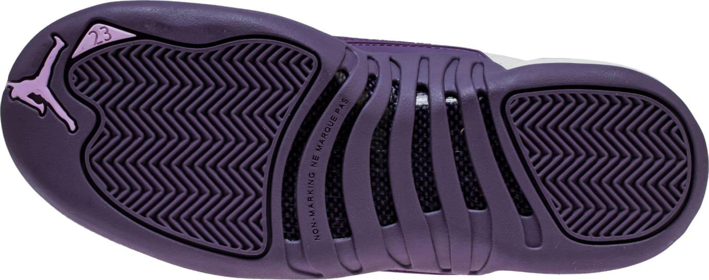 info for 48733 692a3 Air Jordan 12 Retro GS Desert Sand Purple Release Date ...