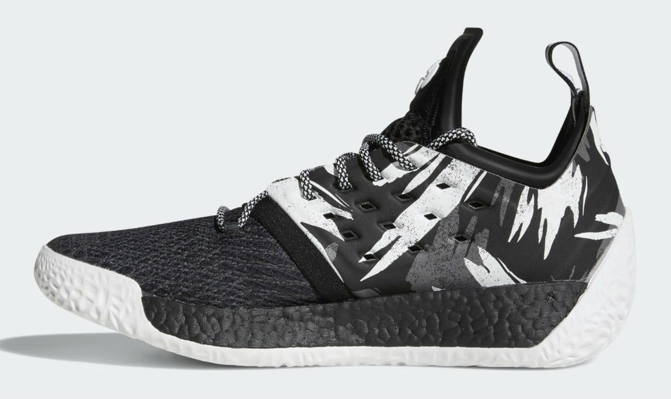 Adidas Harden Vol. 2 Traffic Jam Release Date AH2217 Medial