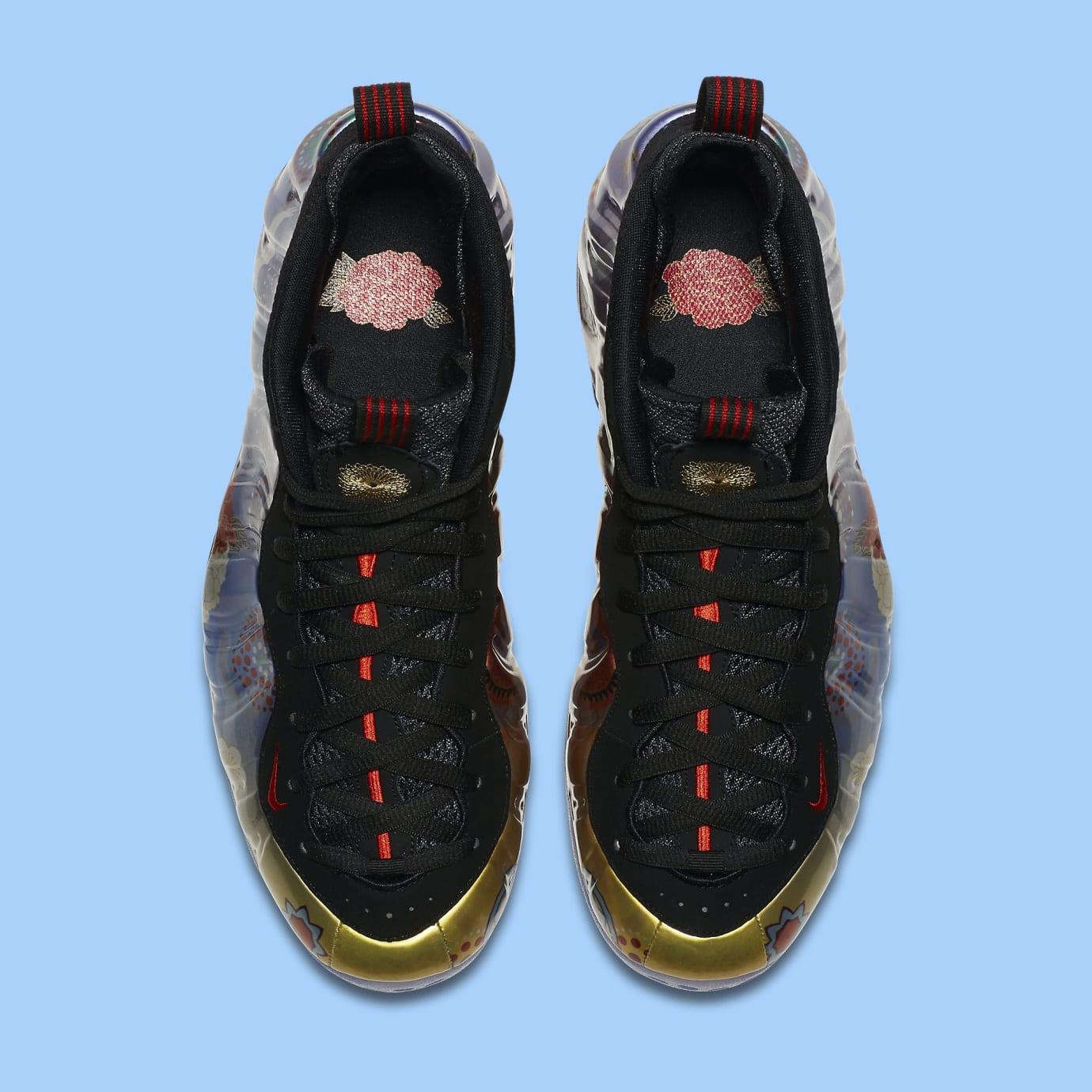 50708319bde2 Image via Nike Nike Air Foamposite One  Chinese New Year  AO7541-006 (Top)