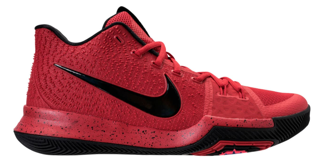 Nike Kyrie 3 Three-Point Contest University Red Release Date Profile 852395-600