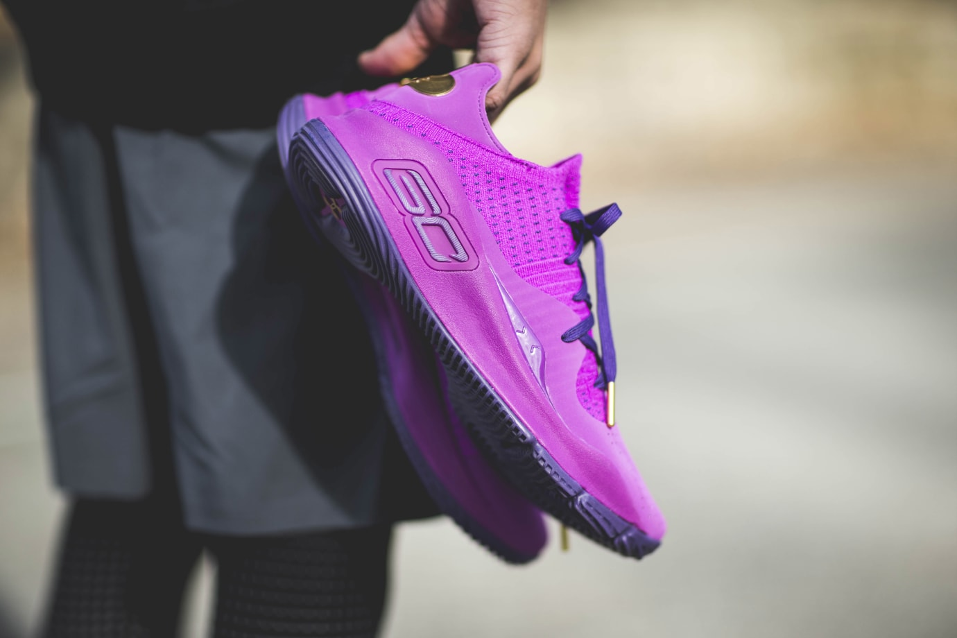 Under Armour Curry 4 Low 'Purple'