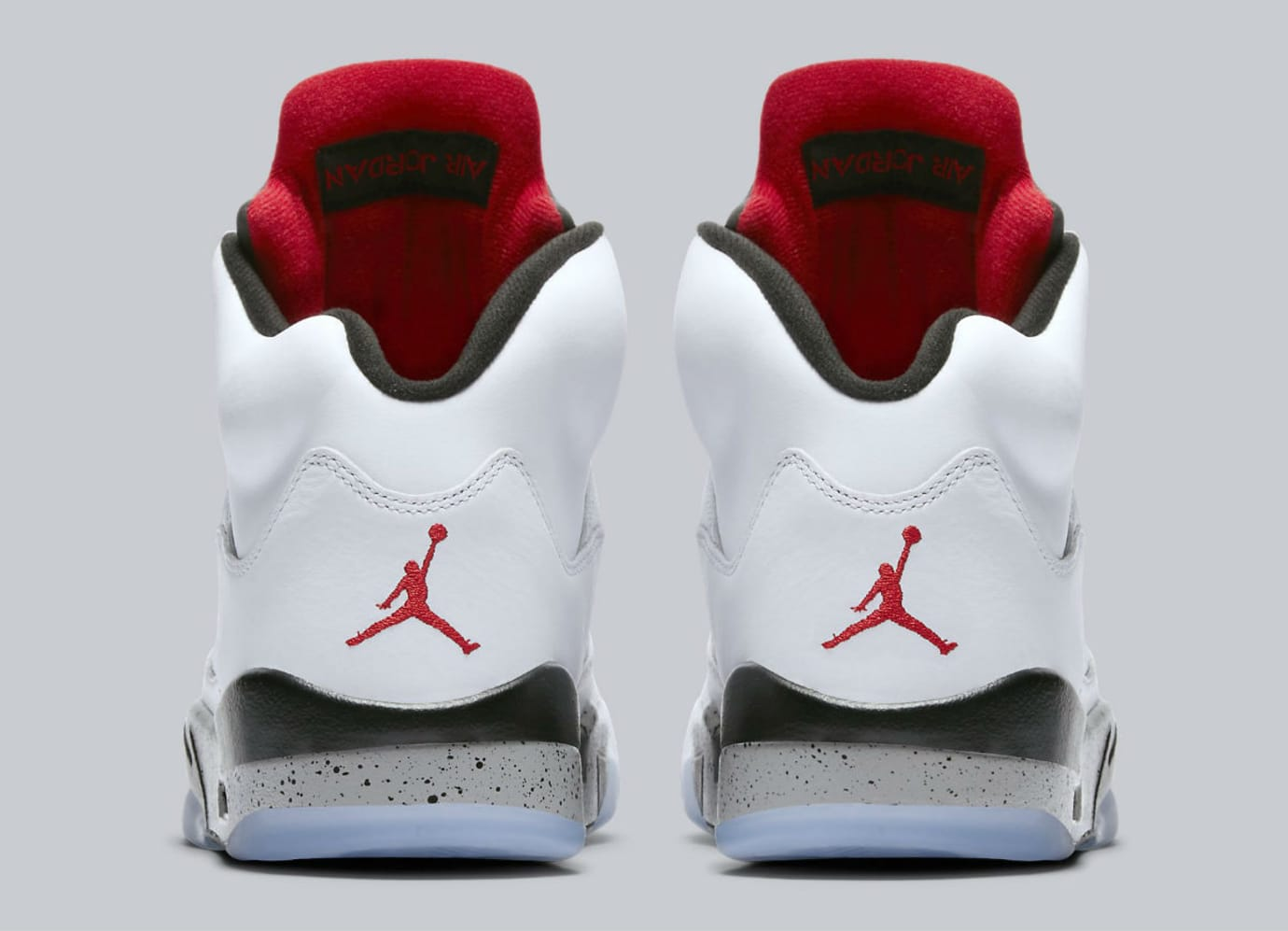 Air Jordan 5 White Cement Release Date Heel 136027-104