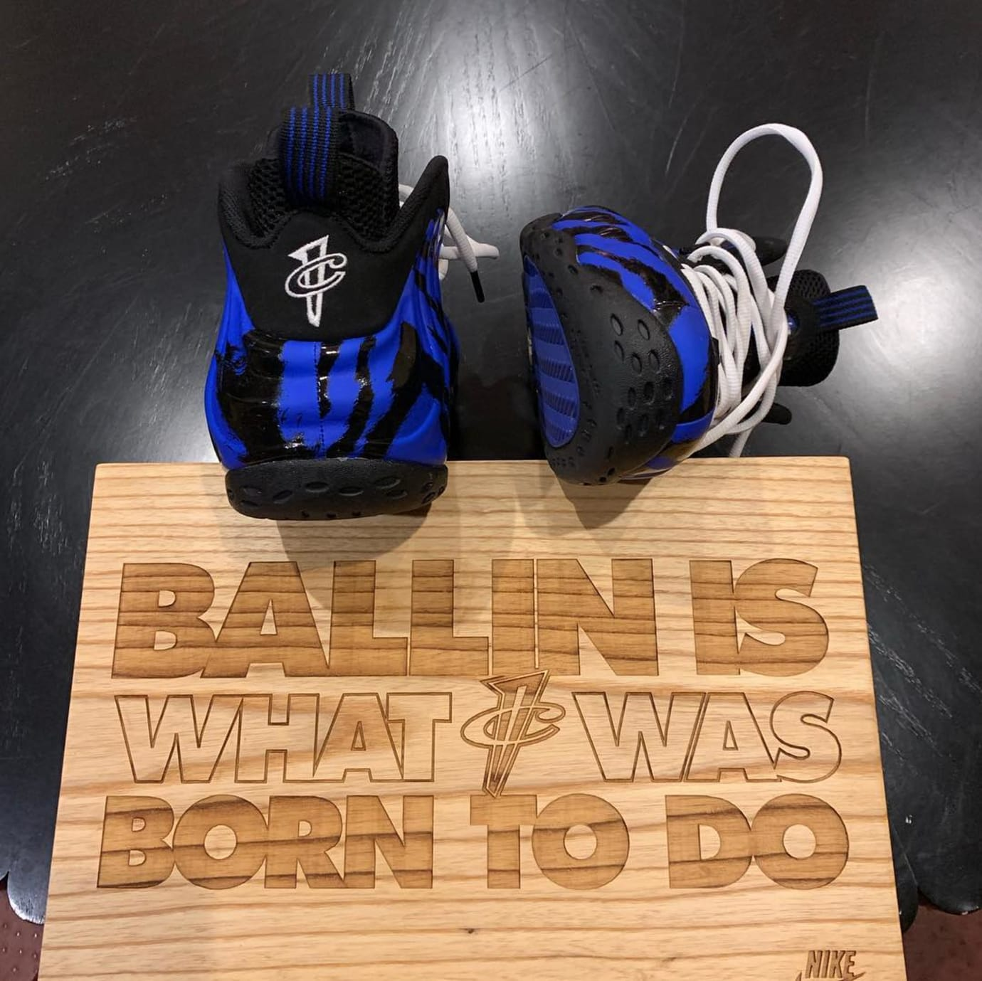 Nike Air Foamposite One Memphis Tigers Back