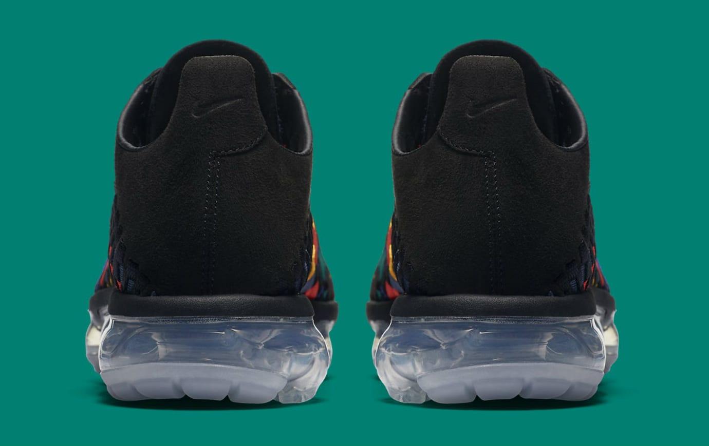 Nike Air VaporMax Inneva Multicolor Release Date AO2447-001 Heel