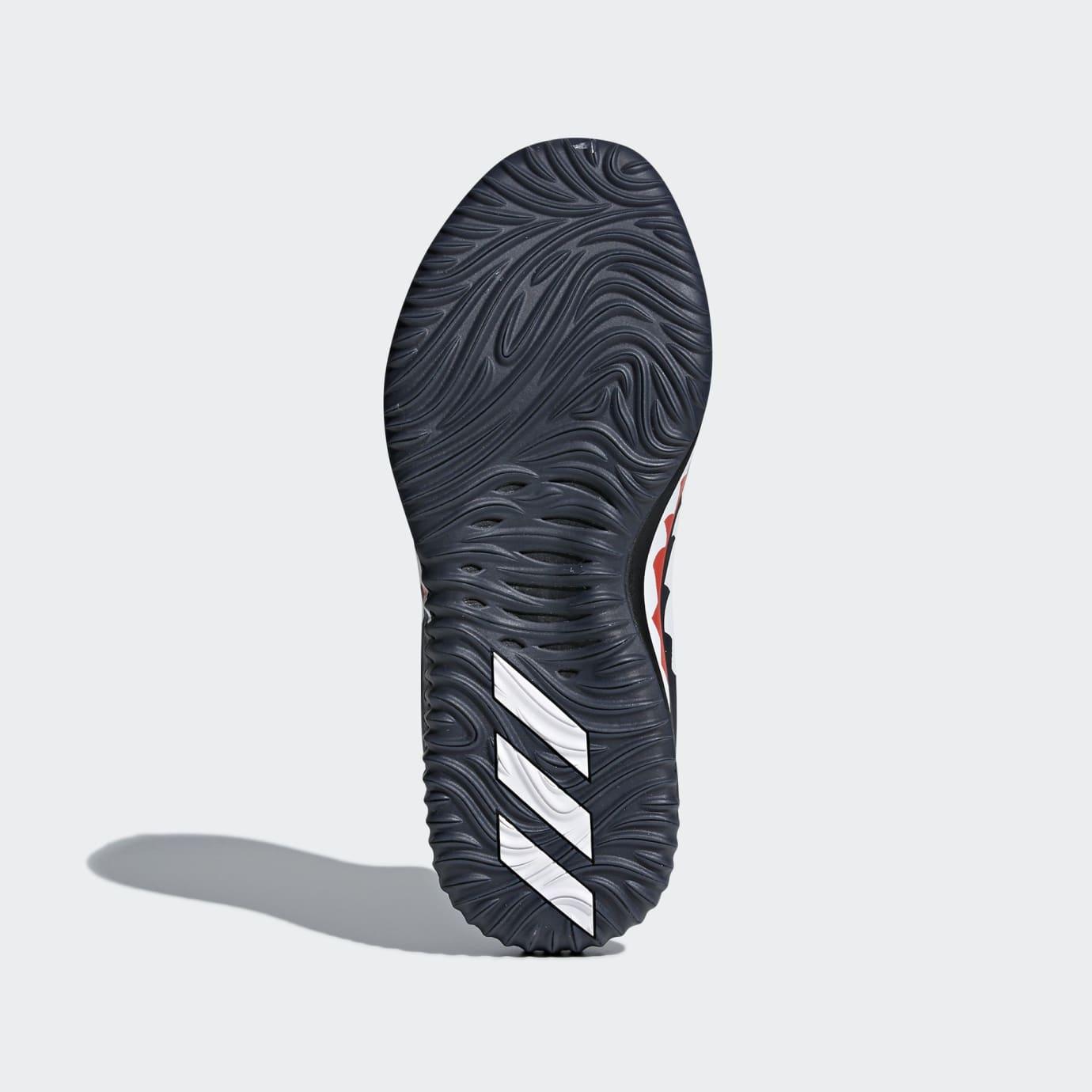BAPE x Adidas Dame 4 'Black Camo' AP9975 (Bottom)