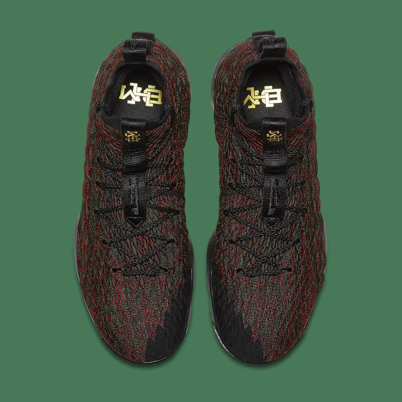official photos 5020f 05f4a Image via Nike Nike LeBron 15 BHM AA3857-900