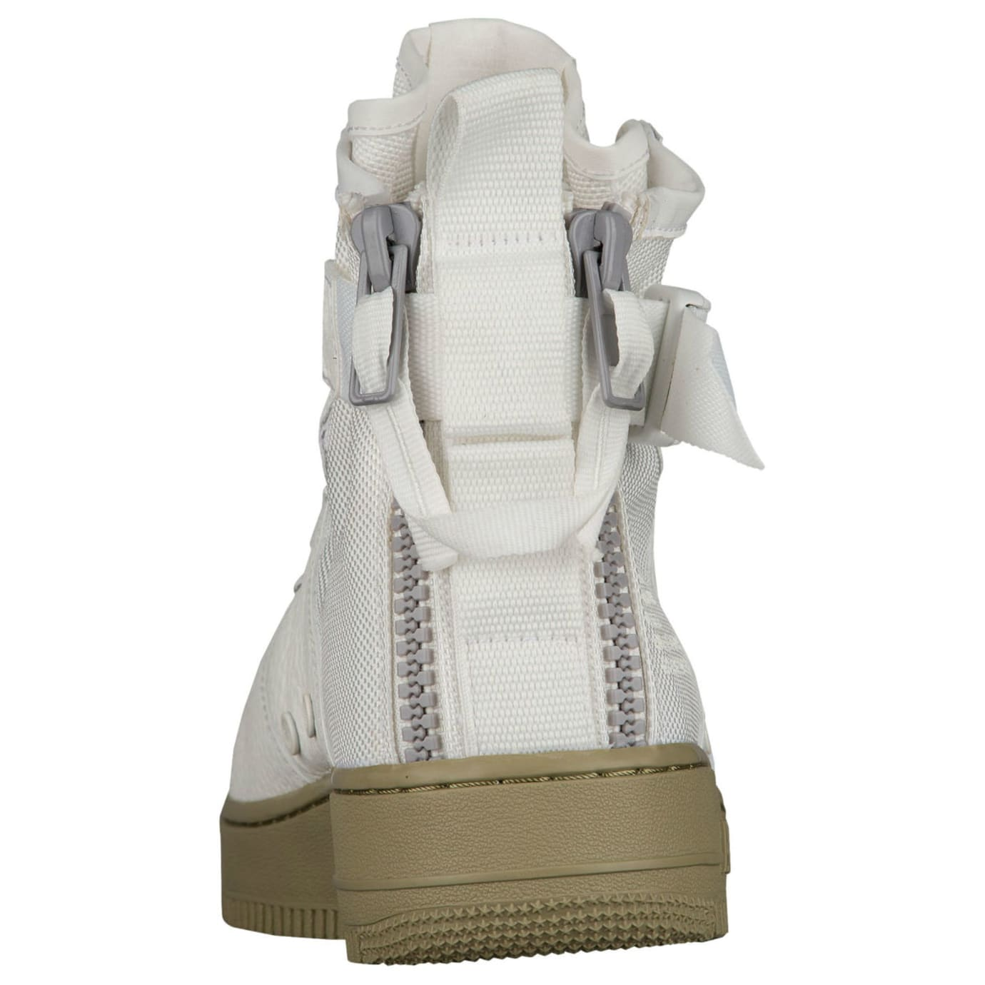 Nike SF Air Force 1 Mid Ivory Neutral Release Date Heel 917753-101