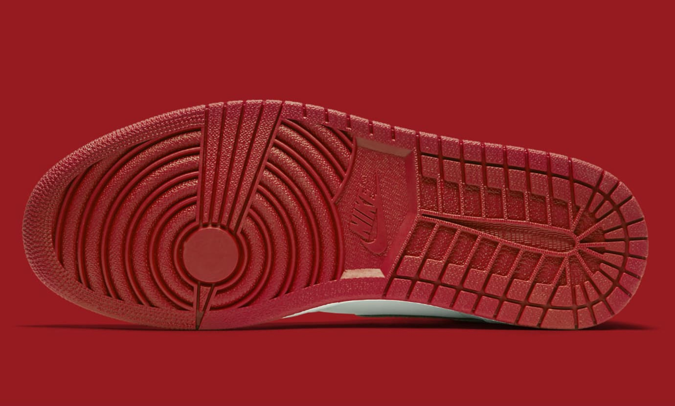 Air Jordan 1 Metallic Red 2017 Release Date Sole 555088-103