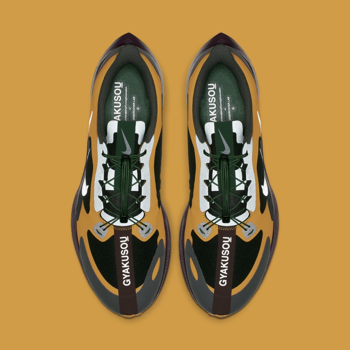 9409b723bf8d4 Image via Nike Undercover Gyakusou x Nike Zoom Pegasus Turbo BQ0579-700  (Top)