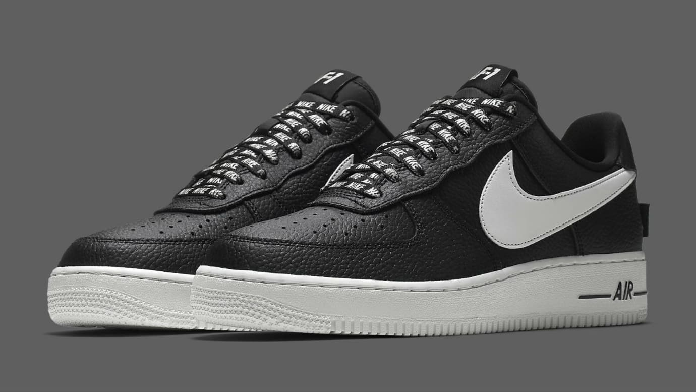 best sneakers 7a529 c6b8c Nike Air Force 1 Low NBA Statement Game Release Date 823511-007