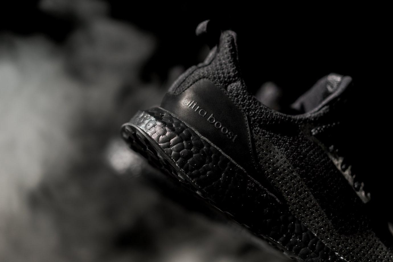 Haven Adidas Ultra Boost Triple Black Sole