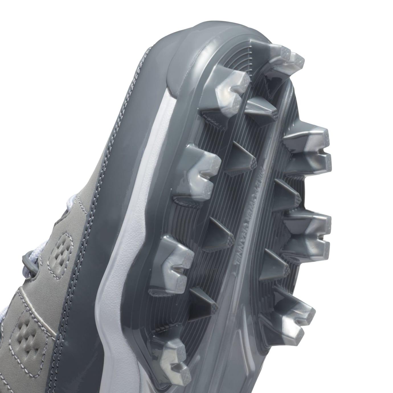 Air Jordan 9 IX MCS Baseball Cleats Cool Grey Cleat Plate