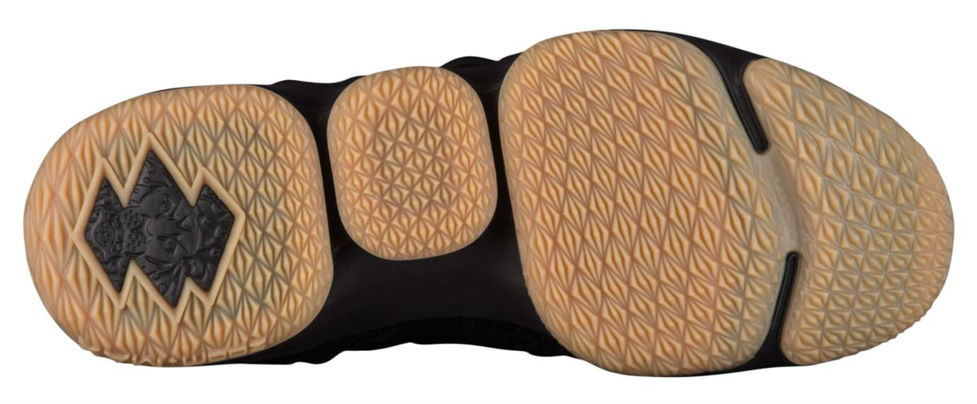 Nike LeBron 15 Black Gum Release Date 897648-300 Sole