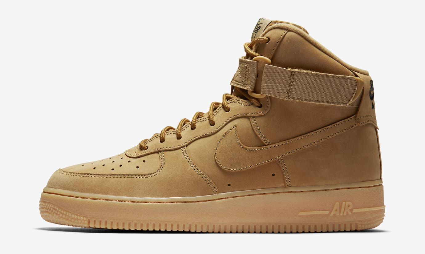 Wheat Nike Air Force 1 Flax 882096-200