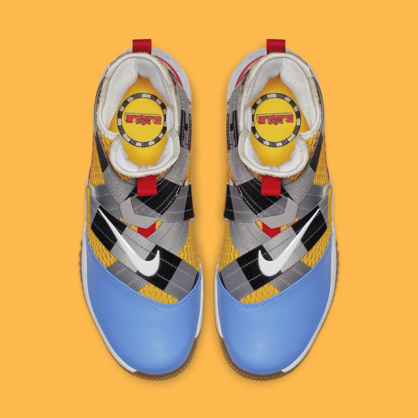 online store 4cdc8 cb106 Image via Nike Nike LeBron Soldier 12 FlyEase  Arthur  AV3812-700 (Top)