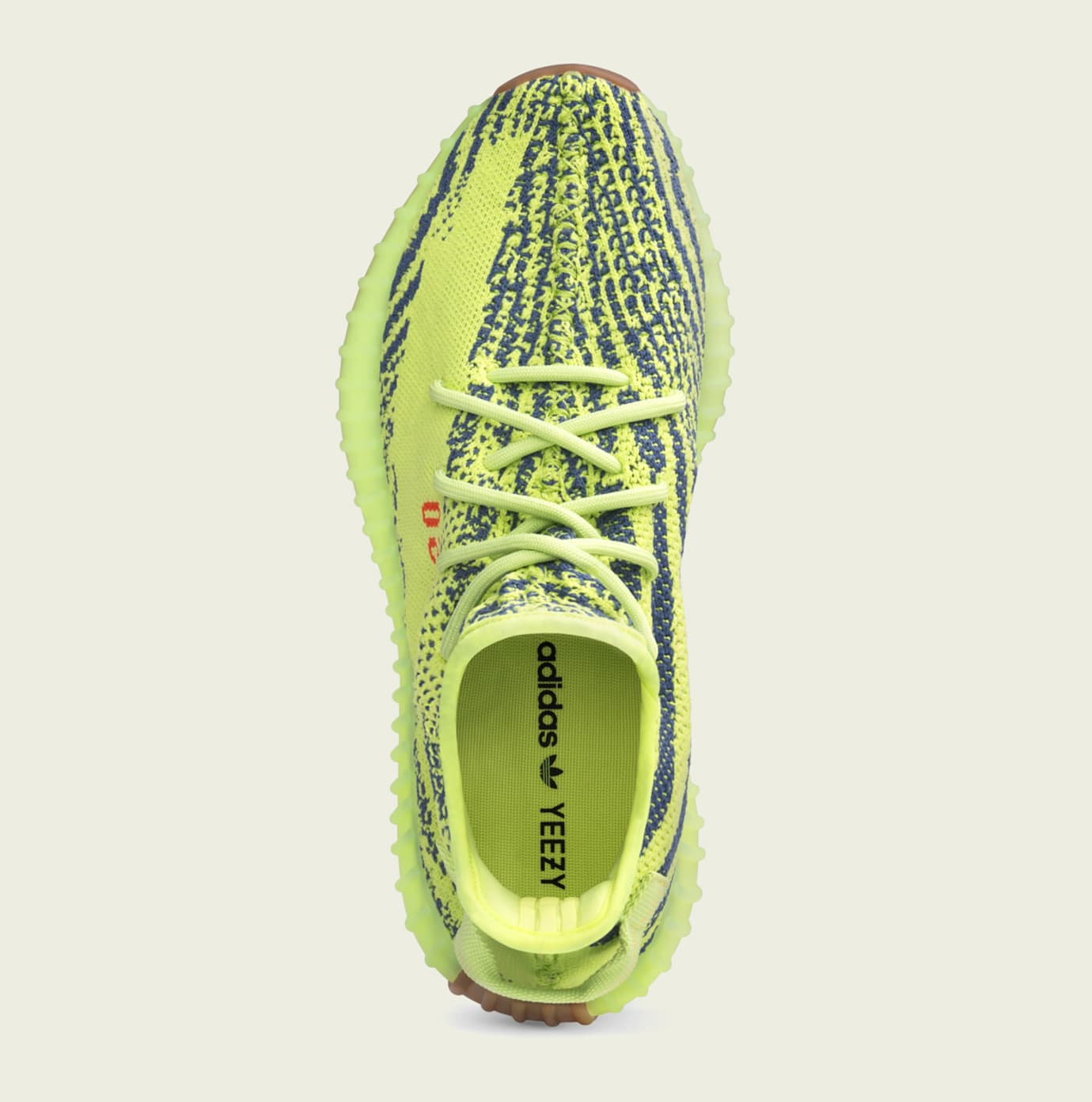 690db51ac70 Adidas Yeezy Boost 350 V2 Semi Frozen Yellow Beluga 2 Blue Tint ...