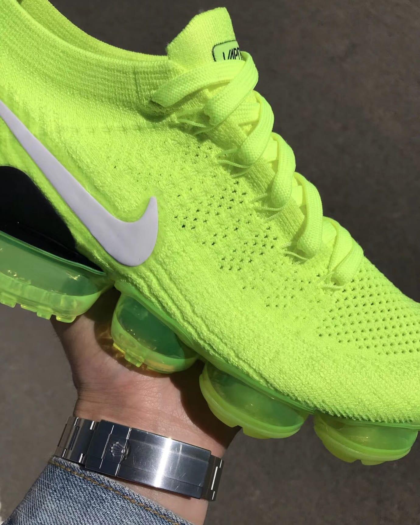 Nike Air VaporMax 2 Flyknit Volt Release Date 942842-700 (7)
