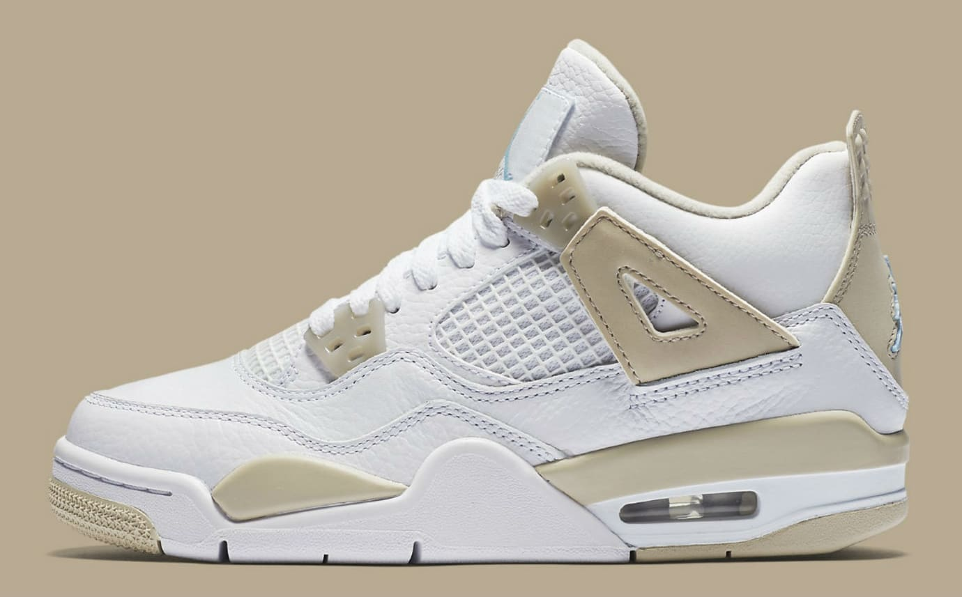 a69f456872a5 Air Jordan 4 Girls Linen Release Date Profile 487724-118