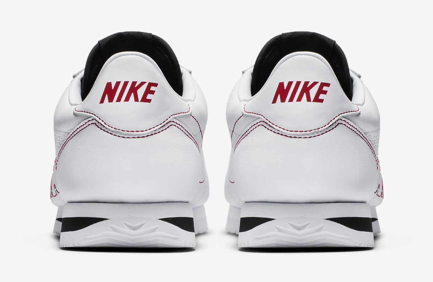 80f21a15867 Image via Nike Kendrick Lamar Nike Cortez Kenny Damn AV8255-106 Heel