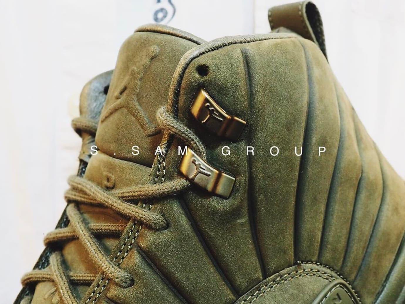PSNY x Air Jordan 12 Olive Release Date (4)