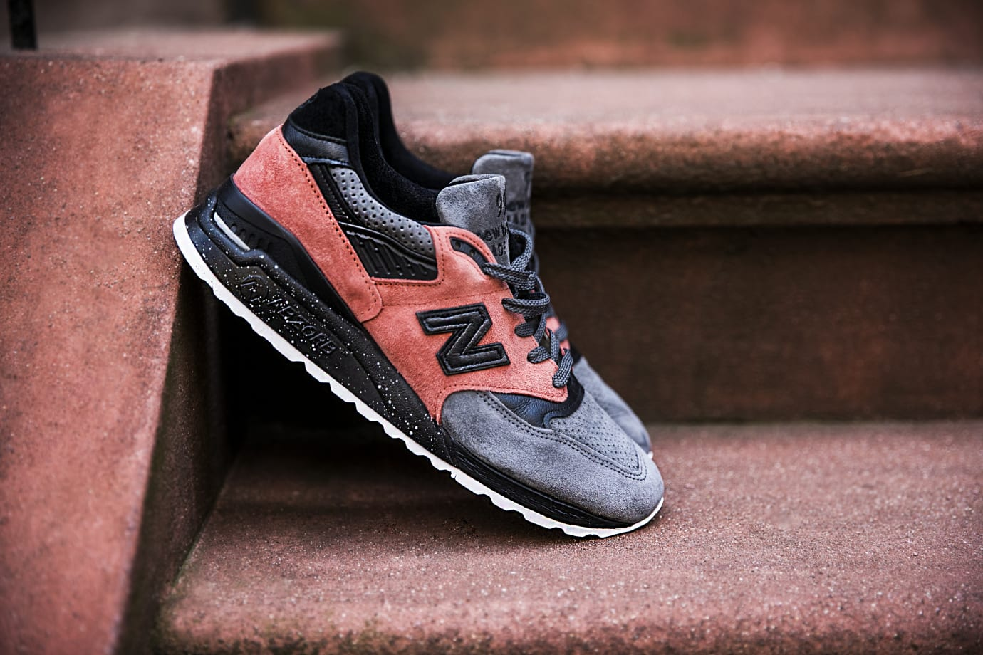 Todd Snyder x New Balance 998 NB1 'Sunset Pink' (Lateral)