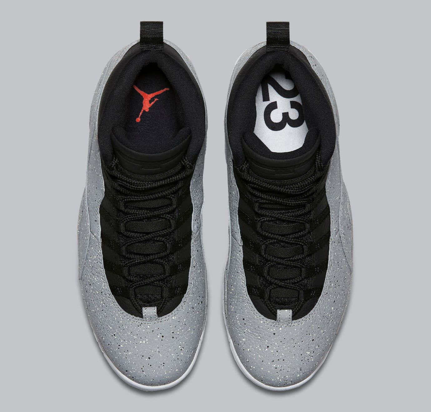 Image via Nike Air Jordan 10 X Cement Release Date 310805-062 Top 8b7af74ac