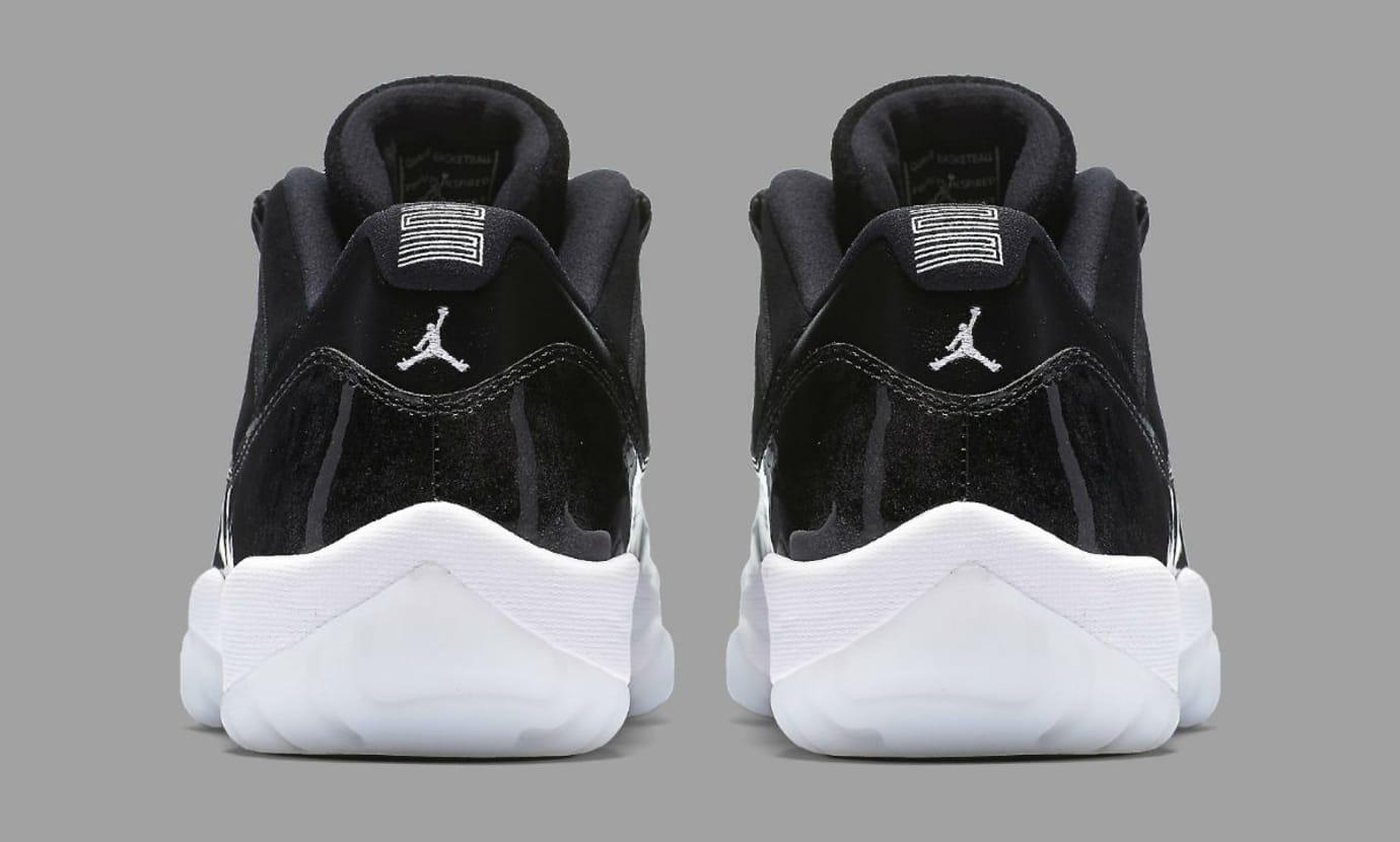9dc0b5cb2f8 Air Jordan 11 Low Barons Release Date Heel 528895-010