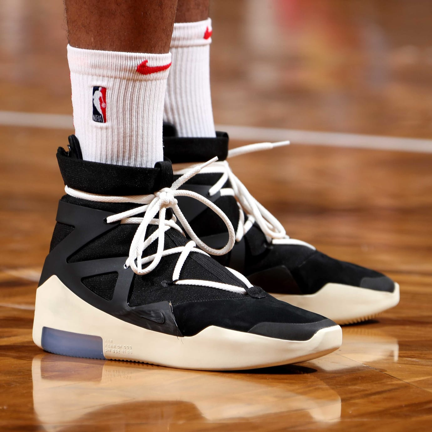 79bcd918738 P.J. Tucker Debuts Jerry Lorenzo Nike Air Fear of God