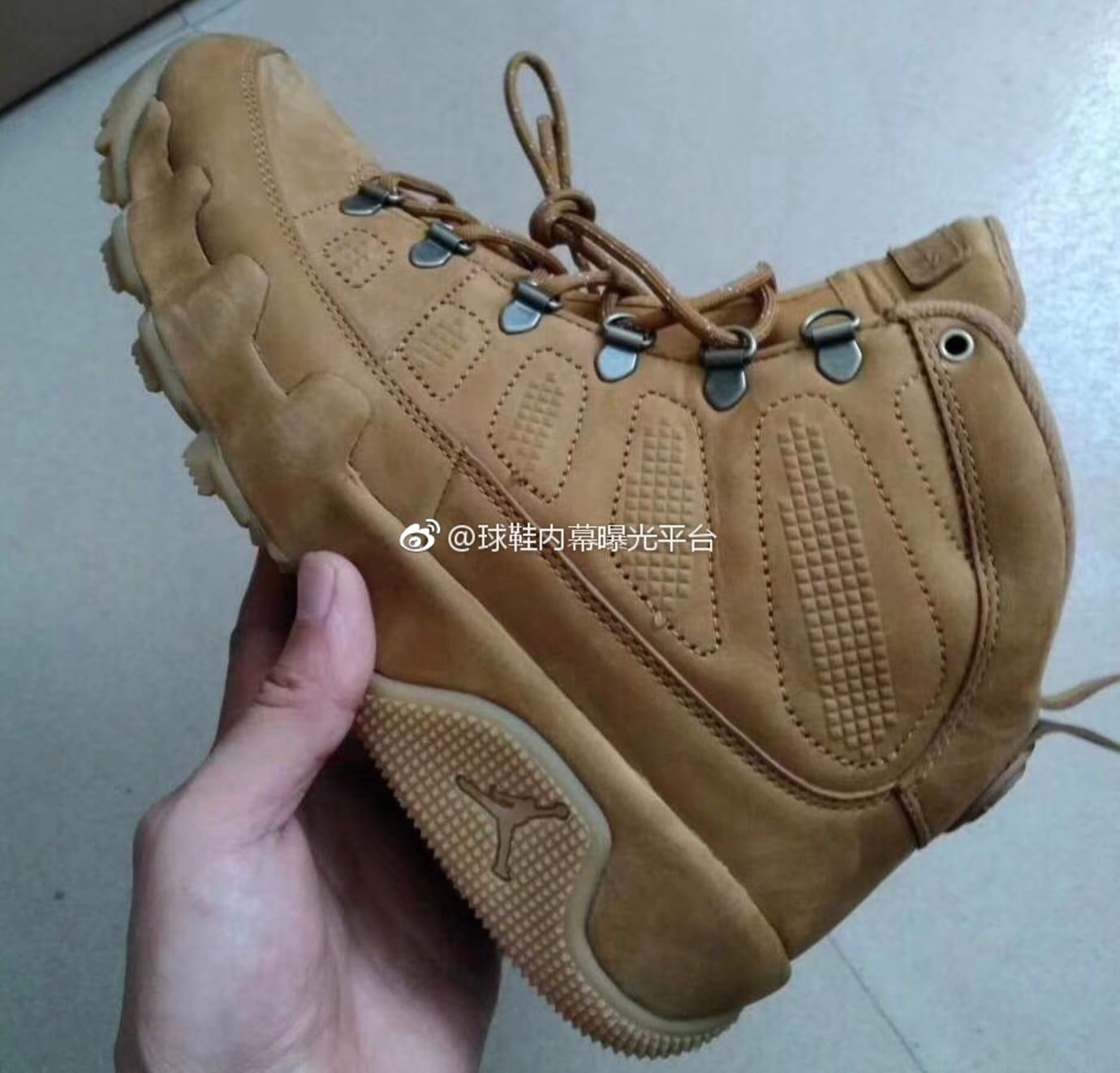 Air Jordan 9 Boot 'Wheat'