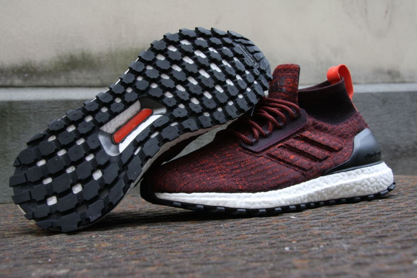 89fc6f57236 Adidas Ultra Boost ATR Red Release Date S82035 Bottom