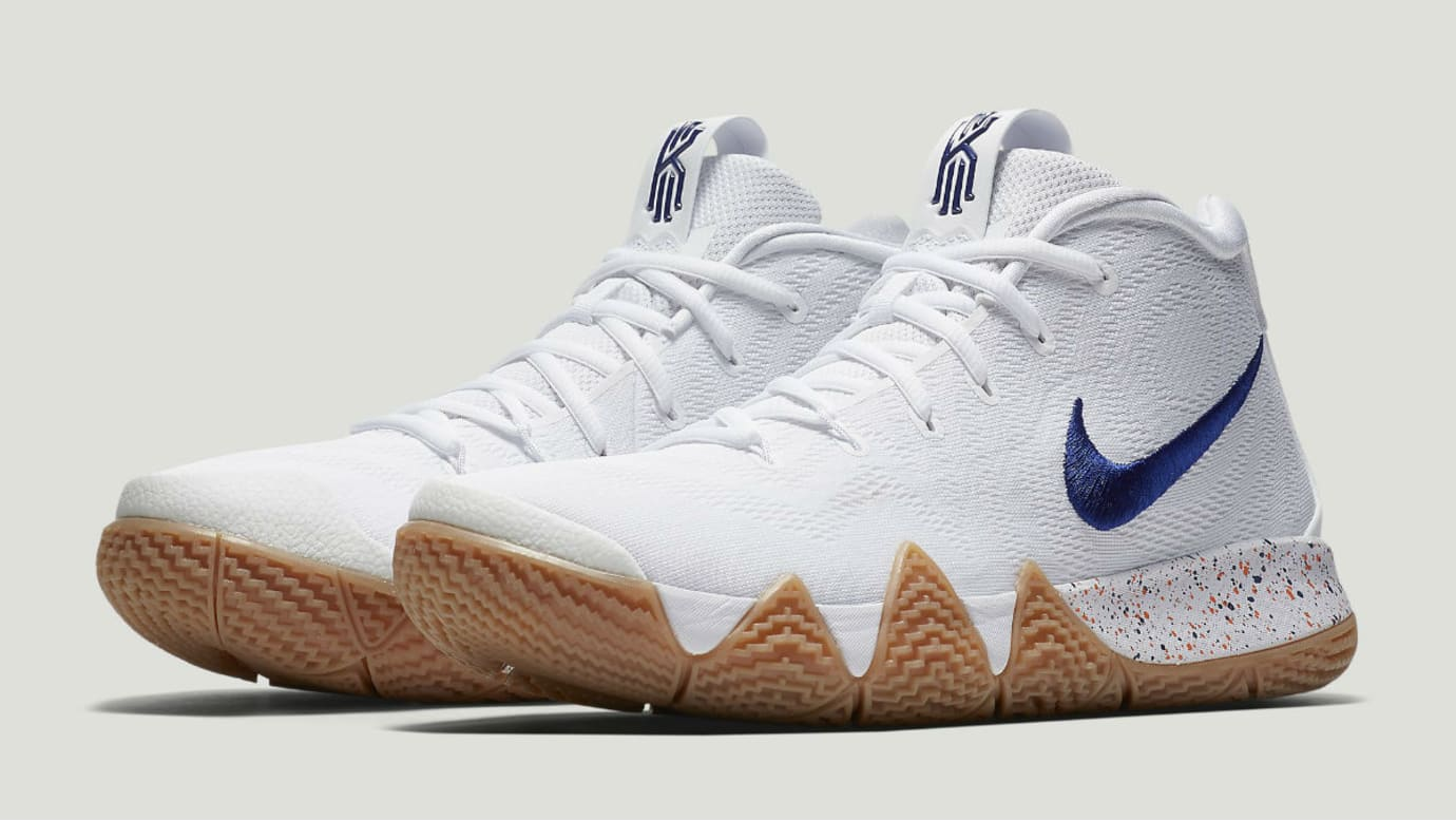wholesale dealer 6f5c8 a5ff6 Nike Kyrie 4 'Uncle Drew' White/Gum 943807-100 Release Date ...