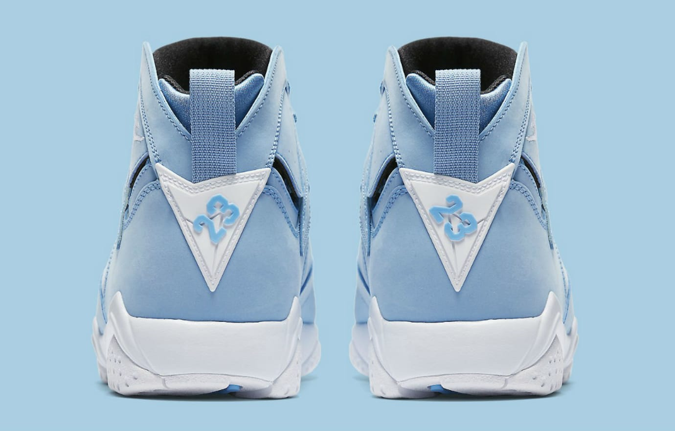 best website 22762 96d72 Air Jordan 7 Pantone Release Date Heel 304775-400
