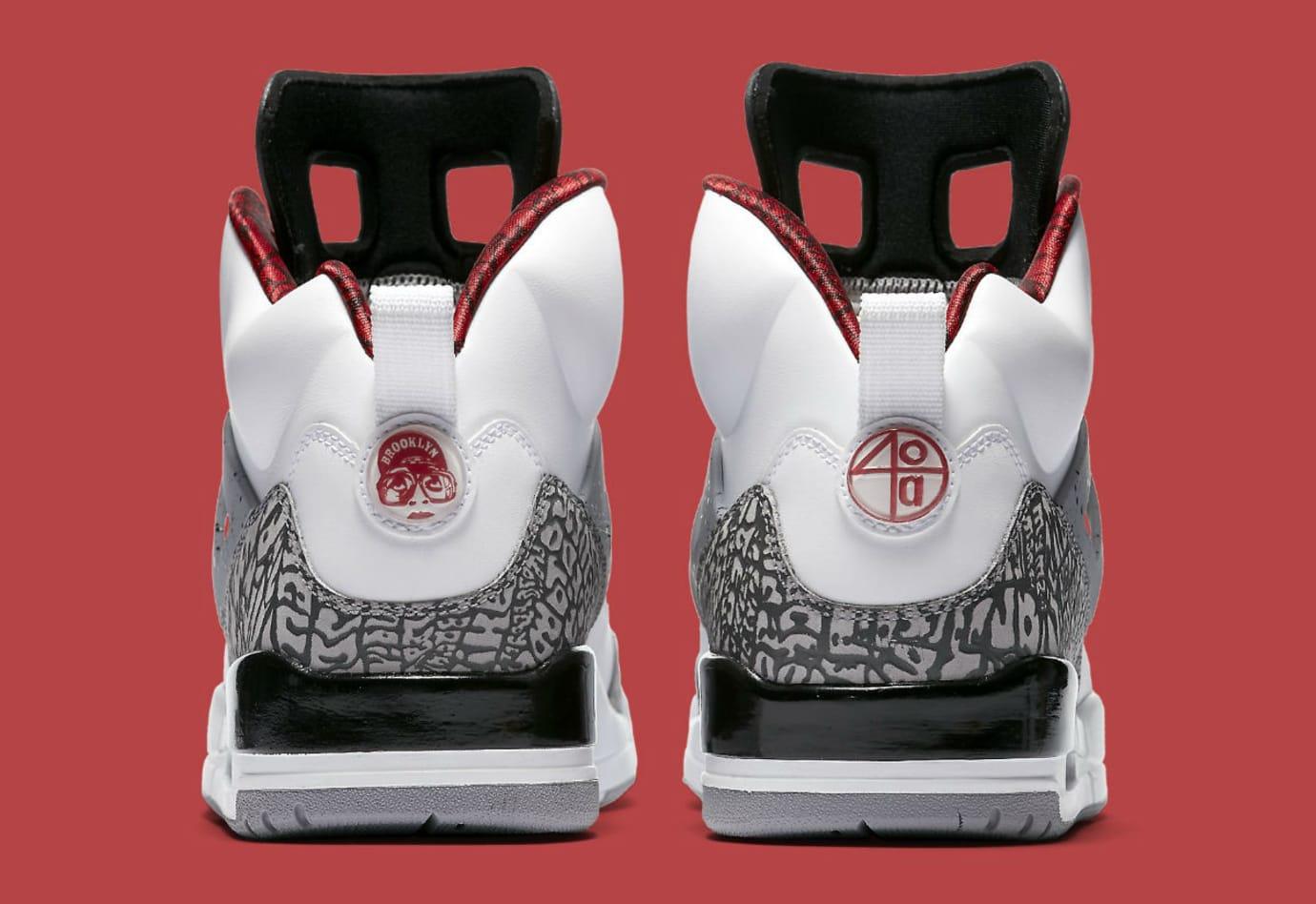 Jordan Spizike White Cement 2017 Release Date Heel 315371-122