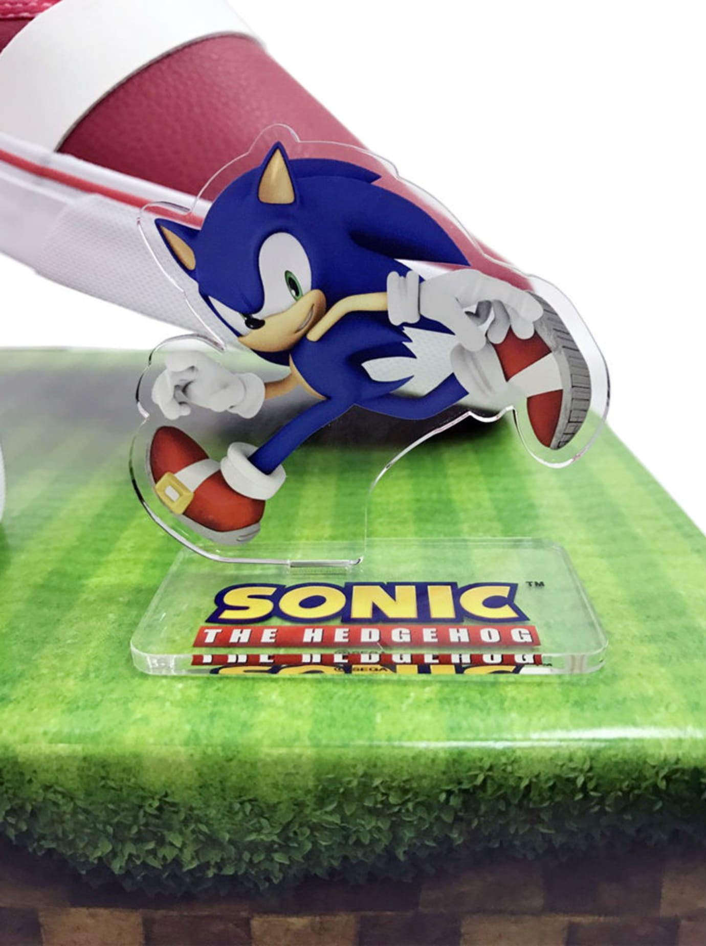 Sonic the Hedgehog Annipon Red Sneakers Figure